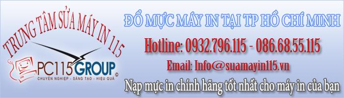Đổ mực máy in tại huyện Củ Chi
