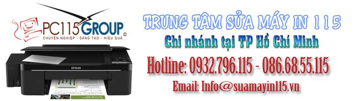 Sửa máy in tại quận Gò Vấp - TP HCM
