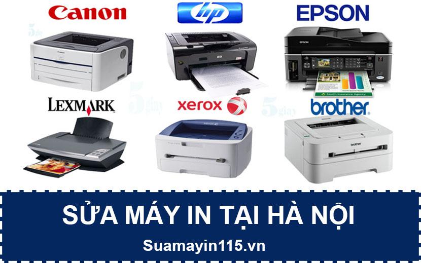 Sửa máy in tại Hà Nội